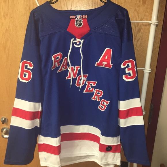 online store ae9cf 4dc70 New York Rangers Mats Zuccarello Jersey